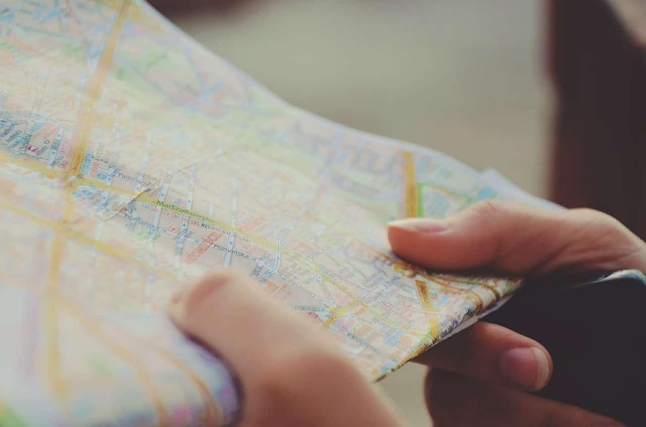 Разработка картографических материалов